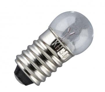 Ersatz-Glühbirne, E 10 Schraubbirne 6 V, 10er Pack