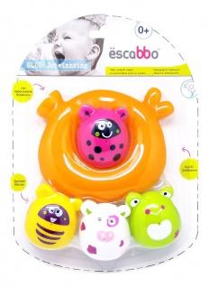 ESCABBO Ring mit Badefiguren Bubbies
