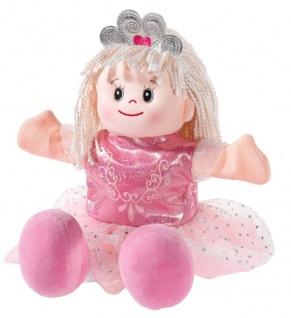 Handspielpuppe Prinzessin im Poupetta-Stil