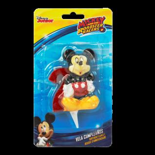 Kuchenkerze 3D Mickey Number 2