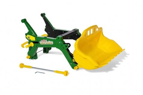 Kippschüssel rollyTrac Lader Premium in grün-gelb