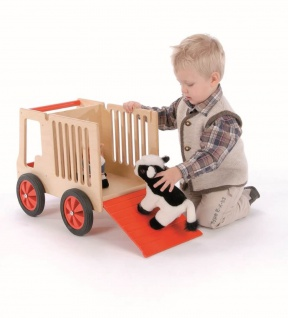 Tiertransporter aus Holz