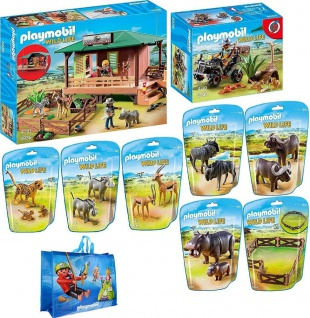 PLAYMOBIL Exklusives Wild Life Bundle