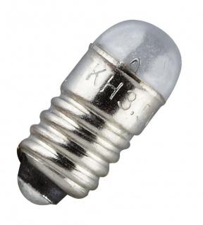 Ersatz-Glühbirne, E 5, 5 Schraubbirne 3, 5 V, 10er Pack Version 053513-10er