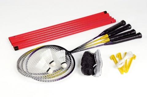 Badminton Schläger Bandito Komplett Set