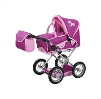Kombi-Puppenwagen Ruby - UMA Das Einhorn, purple
