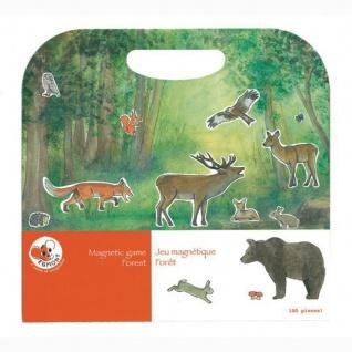 Magnetspiel Wald mit vielen abnehmbaren Magneten - Reisespiel