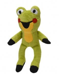 Frosch mit Magnet, 12cm, bekannt aus den Geschichten mit dem kleinen Maulwurf