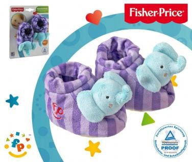 Fisher-Price Baby Rasselschuhe, Design Elefant