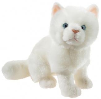 Heunec Plüschtier Misanimo Kätzchen weiß, Kuscheltier