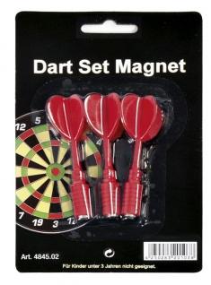Ersatzpfeile für Magnet-Dartboard rot