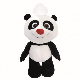 Plüschtier Panda, 15 cm, von Bino - Kuscheltier, Plüschpanda