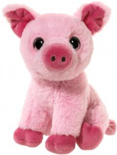 MINI-MI Schwein, 14 cm, Plüschtier Schwein