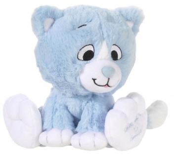 Plüschtier Katze Kitty Smile Farbe bleu