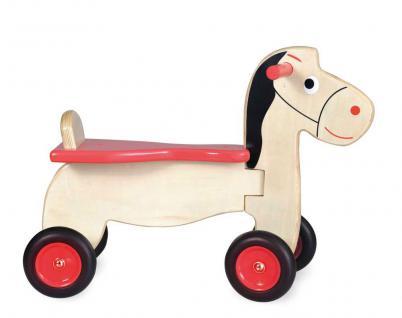 Rutscher Pferd aus Holz