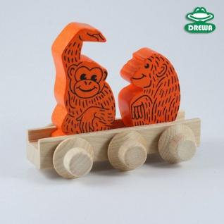 Laufteil für DREWA Kugelbahnen, Dschungeltier - Affen