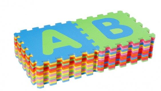 Puzzlematten Alphabet, 26 teilig