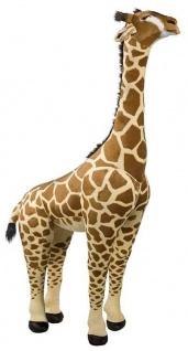 Zoo Tiere stehend GIRAFFE 150 cm, Dekoartikel