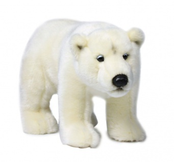 Plüschtier WWF Eisbär stehend, Grösse 31cm