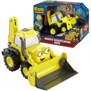 Bob der Baumeister Sandkastenfahrzeug Schaufelbacker Baggi mit Licht und Sound