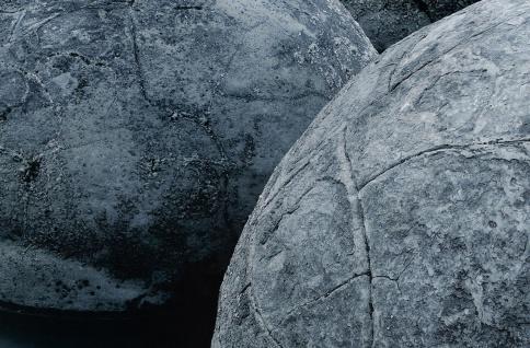 XXL Poster Steine am Strand vor Meer - Vorschau 5