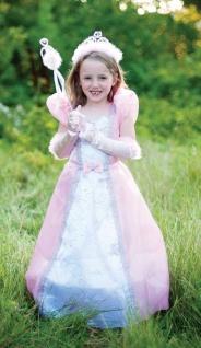 Prinzessinnen-Kleid mit Reifrock rosa S/M Farbe rosa
