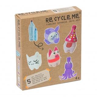 Re-Cycle-Me Basteln mit PET-Flasche für Mädchen -Bastelset Re-Cycle-Me