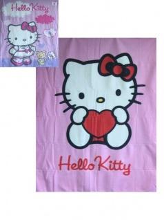 Hello Kitty Fleece-Decke Herz