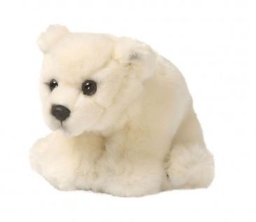 Plüschtier WWF Eisbär weich, Grösse 15cm