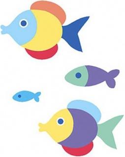 Wandaufkleber Wallies Motiv-Sticker (Cutouts) SomethinFishy
