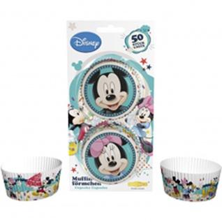 Muffinförmchen Mickey und Minnie, 50 Stück