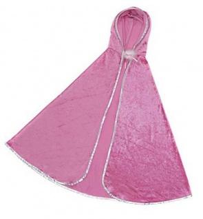 Prinzessinnen-Cape pink S 3-4 Jahre)