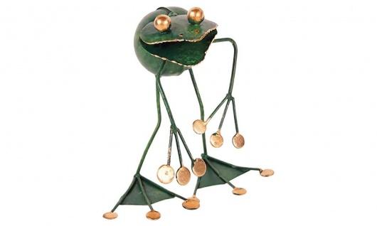 Metallfigur Frosch Franco, cool