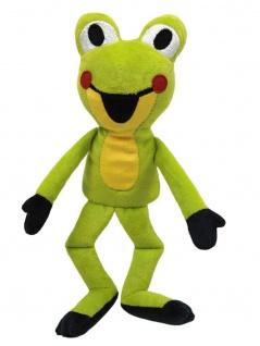 Handpuppe Frosch aus der TV-Serie Der kleine Maulwurf, 23 cm