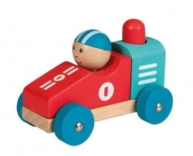 Buntes Holzauto No. 1