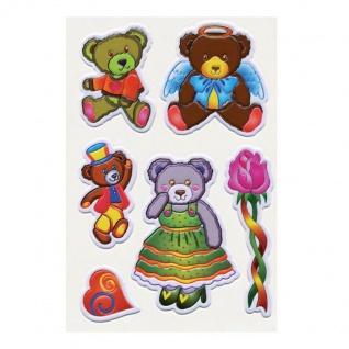 3D Sticker Bärenfamilie