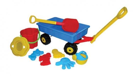 Handwagen mit Eimerset, 9 teilig