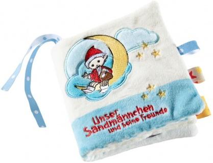 Sandmann Plüschbuch, Heunec Plüschbuch mit den Sandmann Figuren