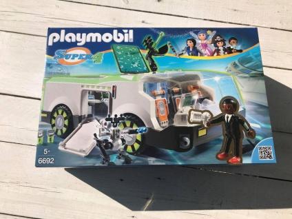 Playmobil Techno Chamäleon mit Agent Gene