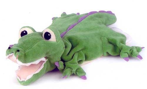 Plüschtier-Handpuppe Krokodil von Egmont Toys