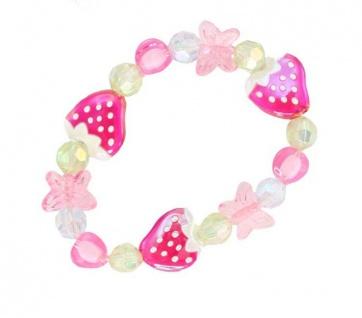Armband Erdbeer