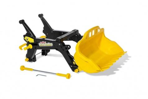 Kippschüssel rollyTrac Lader Premium in Schwarz-gelb-B-Ware