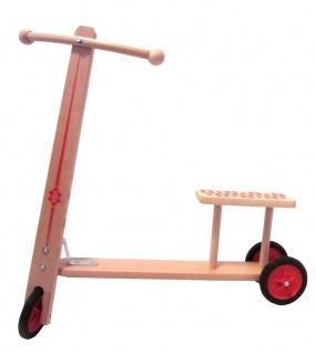 Kinder-Roller - Kai aus naturbelassenem Holz