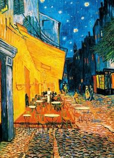 Fototapete Kunst Gemälde, Café terrasse am Abend van Gogh