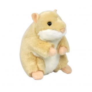 Plüschtier WWF Hamster, sitzend, 12cm