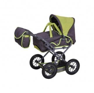 Kombi-Puppenwagen Ruby, tec green