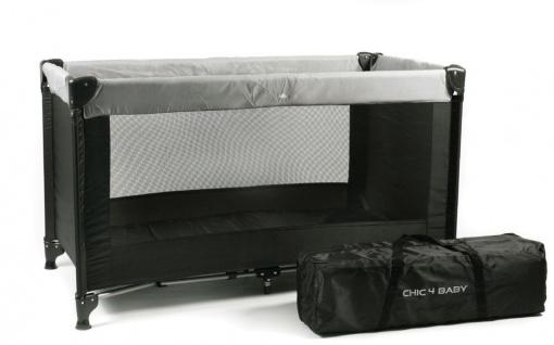 Reisebett Basic, Farbe schwarz