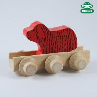 Laufteil für DREWA Kugelbahnen, Bauernhof - Hund