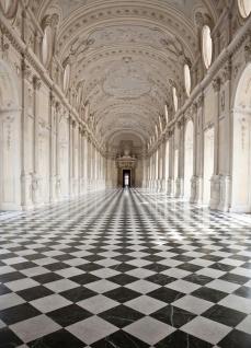 Vlies Fototapete Säulen, als optischer Vergrößerung