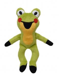 Plüschfigur Frosch, 14cm, aus den Geschichten mit dem kleinen Maulwurf
